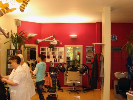 Friseur Vorher